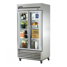 True T-35G 35 Cu Ft Reach-In Two-Section Refrigerator