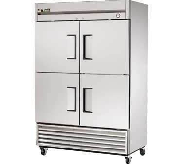 True T-49-4 49 Cu Ft Reach-In Two-Section Refrigerator