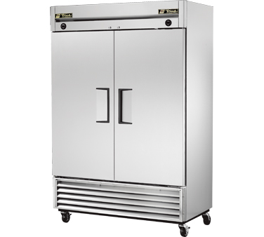 True T-49DT 23 Cu Ft Dual Temp Reach-In Two-Section Refrigerator / Freezer