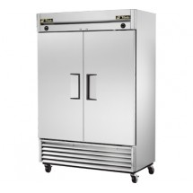 True-T-49DT-23-Cu-Ft-Dual-Temp-Reach-In-Two-Section-Refrigerator---Freezer
