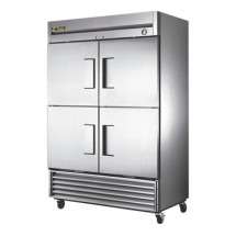 True T-49F-4 49 Cu Ft Reach-In Two-Section Freezer