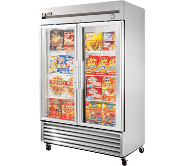 True T-49FG TRUE 49 Cu Ft Reach-In Two-Section Freezer