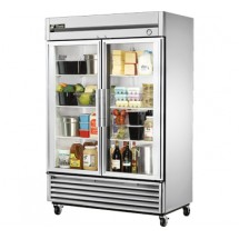 True T-49G 49 Cu Ft Reach-In Two-Section Refrigerator