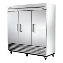 True T-72F 72 Cu Ft Reach-In Three-Section Freezer