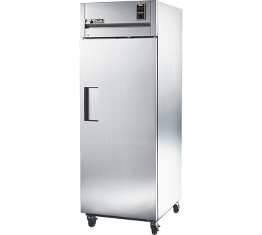 True STA1R-1S One-Section Solid Door Reach In Refrigerator 31 Cu Ft