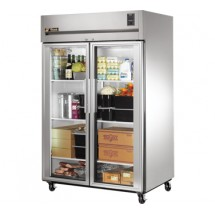 True TA2R-2G 56 Cu Ft Reach-In Two-Section Refrigerator
