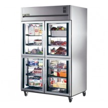True TA2R-4HG 56 Cu Ft Reach-In Two-Section Refrigerator