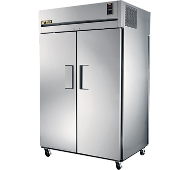True STA2RPT-2S-2S Two Section Pass-Thru Refrigerator with 2-Solid Doors. 63