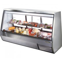 True TDBD-96-3 46 Cu Ft See-Thru Double Duty Deli Case