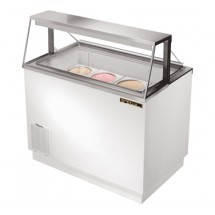 True TDC-47 12.7 Cu Ft Ice Cream Dipping Cabinet