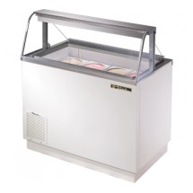 True TDC-47-CG 12.6 Cu Ft Ice Cream Dipping Cabinet