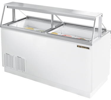 True TDC-67 18.8 Cu Ft Ice Cream Dipping Cabinet