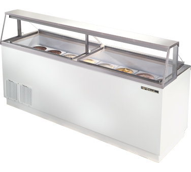 True TDC-87 27.9 Cu Ft Ice Cream Dipping Cabinet