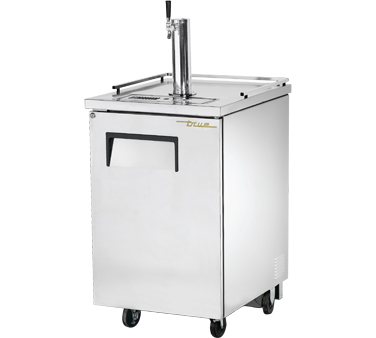 True TDD-1-S 1 Keg Stainless Steel Direct Draw Beer Dispenser 24