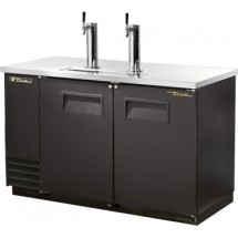 True TDD-2 2 Keg Club Top Draft Beer Cooler
