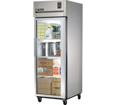 True TG1R-1G 31 Cu Ft Reach-In One-Section Refrigerator