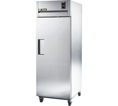 True STG1R-1S One-Section Solid Door Reach In Refrigerator 31 Cu Ft