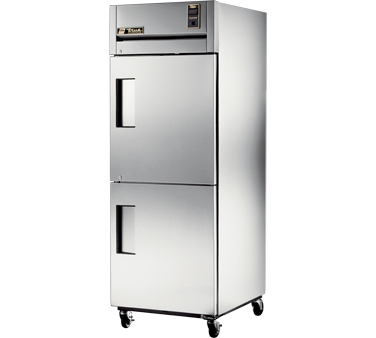 True STG1R-2HS One-Section Reach In Refrigerator with Solid Half Doors 31 Cu Ft