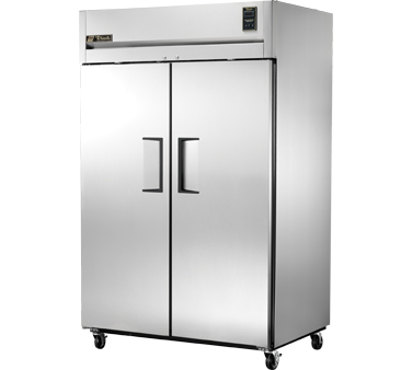 True STG2R-2S Two Section Solid Door Reach In Refrigerator 47.1 Cu. Ft.