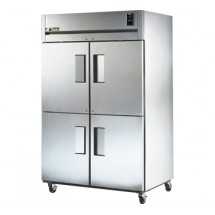 True TG2R-4HS 56 Cu Ft Reach-In Two-Section Refrigerator