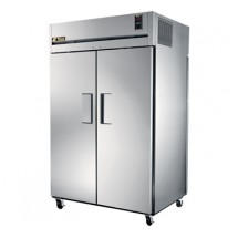 True TG2RPT-2S-2S 56 Cu Ft Pass-Thru Two-Section Refrigerator