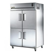 True TG2RPT-4HS-2S 56 Cu Ft Pass-Thru Two-Section Refrigerator