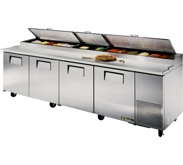 True TPP-119 43.9 Cu Ft Pizza Prep Table With 19.5