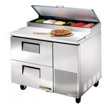 True TPP-44D-2 11.4 Cu Ft Pizza Prep Table