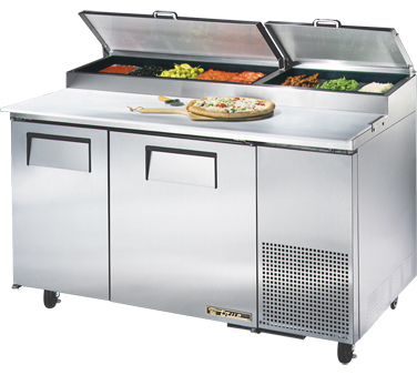 True TPP-60 15.9 Cu Ft Pizza Prep Table With 19.5