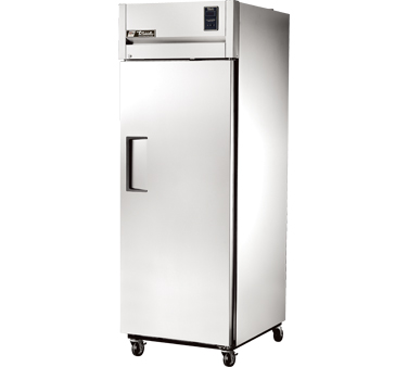 True STR1R-1S One-Section Reach In Refrigerator with Solid Door 31 Cu Ft