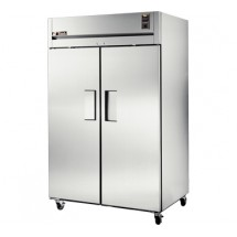 True TR2R-2S 56 Cu Ft Reach-In Two-Section Refrigerator