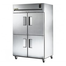 True TR2R-4HS 56 Cu Ft Reach-In Two-Section Refrigerator