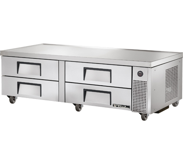 True TRCB-72 72-3/8 Refrigerated Chef Base