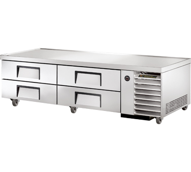 True TRCB-79 79-1/4 Refrigerated Chef Base
