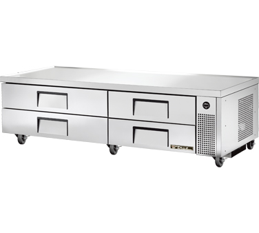 True TRCB-82 82-3/8 Refrigerated Chef Base