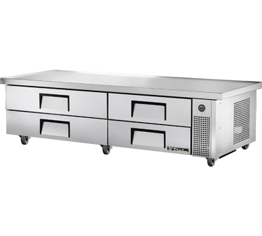 True TRCB-82-86 82-3/8 Refrigerated Chef Base