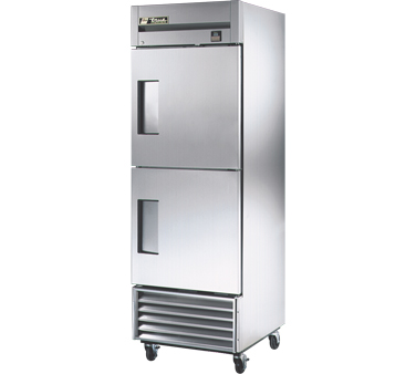 True TS-23F-2 23 Cu Ft Reach-In One-Section Freezer