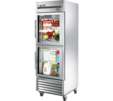 True TS-23G-2 23 Cu Ft Reach-In One-Section Refrigerator