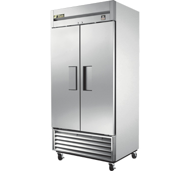 True TS-35 35 Cu Ft Reach-In Two-Section Refrigerator