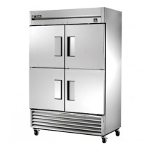 True TS-49F-4 49 Cu Ft Reach-In Two-Section Freezer