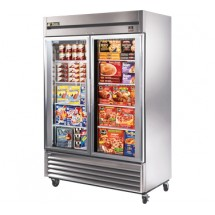 True TS-49FG 49 Cu Ft Reach-In Two-Section Freezer