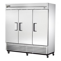 True TS-72 72 Cu Ft Reach-In Three-Section Refrigerator