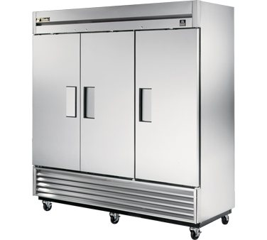 True TS-72F 72 Cu Ft Reach-In Three-Section Freezer
