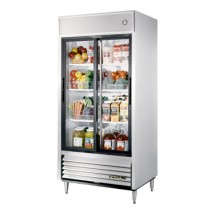 True TSD-33G 33 Cu Ft Reach-In Two-Section Refrigerator