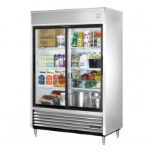 True TSD-47G 47 Cu Ft Reach-In Two-Section Refrigerator