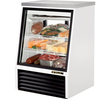 True TSID-36-2 11.8 Cu Ft See-Thru Single Duty Deli Case