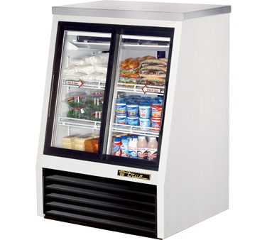 True TSID-36-4 11.8 Cu Ft Pass-Thru Single Duty Deli Case