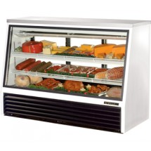True TSID-72-3 24 Cu Ft See-Thru Single Duty Deli Case