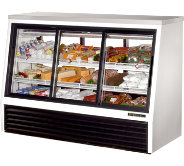 True TSID-72-6 24 Cu Ft Pass-Thru Single Duty Deli Case