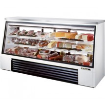 True TSID-96-3 32 Cu Ft See-Thru Single Duty Deli Case